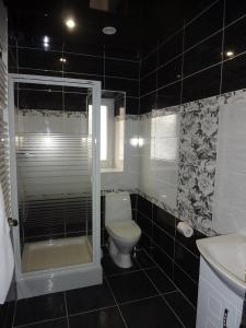 A bathroom at Okolitsa