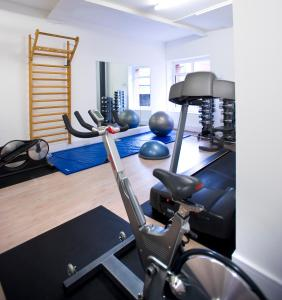 The fitness center and/or fitness facilities at The Rosebery Aparthotel