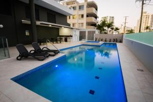 The swimming pool at or near Verve on Cotton Tree