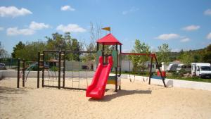 Children's play area at Parque de Campismo Orbitur Valverde