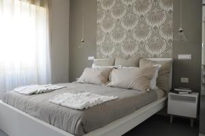 Cama o camas de una habitación en Alma Mater B&B