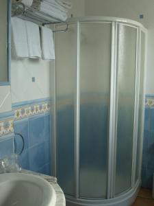 A bathroom at Hotel restaurante El Duque