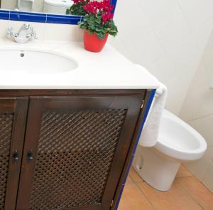 Un baño de Apartamentos Gumiel