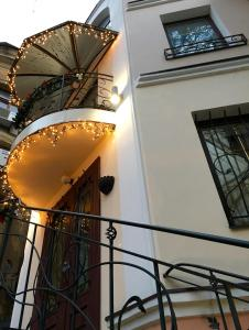A balcony or terrace at Odelana Apartments