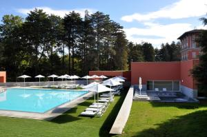 The swimming pool at or near Vidago Palace