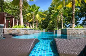 The swimming pool at or near STORY Seychelles