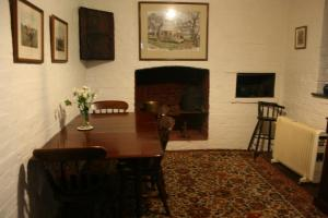 Dining area at the country house