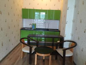 A kitchen or kitchenette at Tsolmon's Serviced Apartments