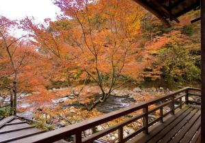 A balcony or terrace at Fukuzumiro