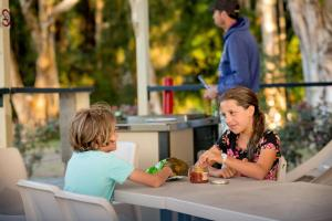 Children staying at Discovery Parks - Harrington