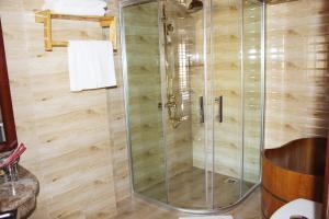 Salle de bains dans l'établissement Sapa Dragon Hotel