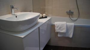 Ein Badezimmer in der Unterkunft Art Apartment Szczecin