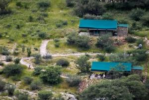 A bird's-eye view of Etusis Lodge