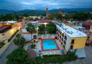 A view of the pool at Mision Jalpan or nearby