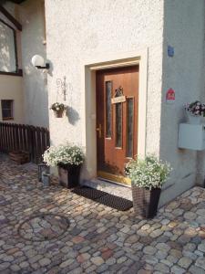 Eine Fassade oder ein Eingang zu B&B Casa Scaletto Turgi