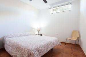 Cama o camas de una habitación en La Casa Del Volcán De Cabo De Gata