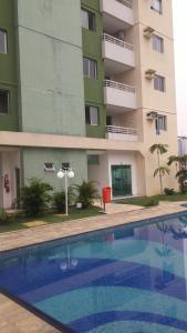 The swimming pool at or near Apartamento Manaus Arena da Amazonia
