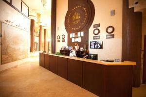 Лобби или стойка регистрации в Расстал Спа Отель