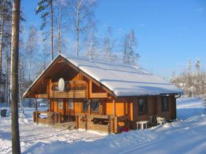 Ruhmaslehto during the winter
