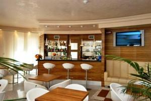 Lounge nebo bar v ubytování Hotel Villa Doimo