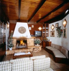 Area soggiorno di Hotel Bruna