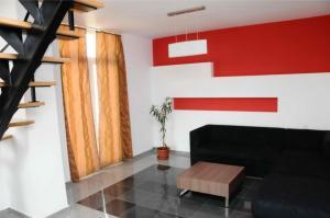 O zonă de relaxare la Vila Cube