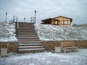 Загородный клуб Афанасий  зимой