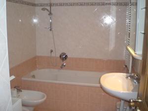 A bathroom at Appartamento San Cristoforo