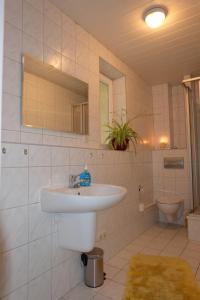 A bathroom at Im Kuckucksnest