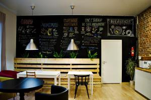 Лаундж или бар в Sweet Village Hostel Ligovskiy