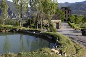 Paisaje cerca of this country house