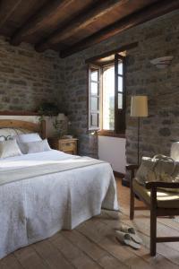 Cama o camas de una habitación en Casa de San Martín