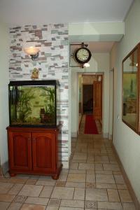 Телевизор и/или развлекательный центр в Villa Ermitazh