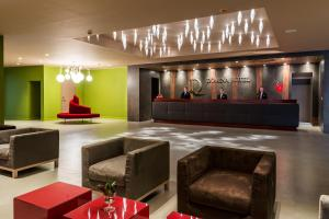The lobby or reception area at Domina Hotel Novosibirsk