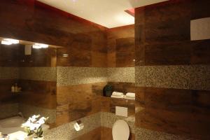 Koupelna v ubytování Apartment Lupáčova