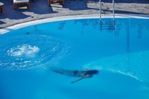The swimming pool at or near Finikia Memories Hotel