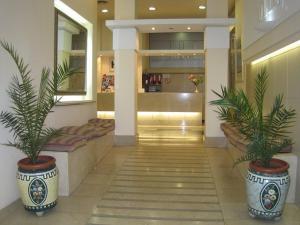 El vestíbulo o zona de recepción de Hotel Ollé