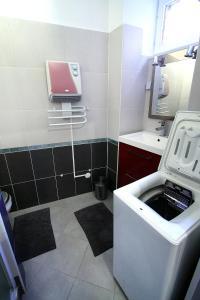 A bathroom at Riquewihr