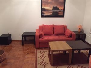 A seating area at Casa Maika
