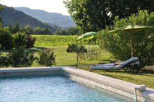 The swimming pool at or near Le Mas En Provence