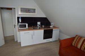 Küche/Küchenzeile in der Unterkunft Borstel - Alte Schmiede
