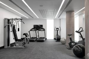 The fitness center and/or fitness facilities at Innside by Melia Manchester