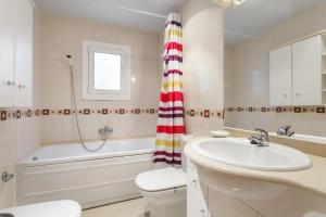 A bathroom at Matarolux 2