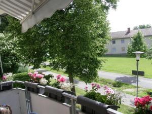 Ein Balkon oder eine Terrasse in der Unterkunft Ferienwohnung Heiko Krenmayer