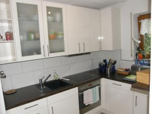 Küche/Küchenzeile in der Unterkunft Ferienwohnung Heiko Krenmayer