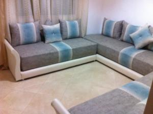 A seating area at Apartment Fes