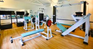 The fitness center and/or fitness facilities at Pousada da Condessa