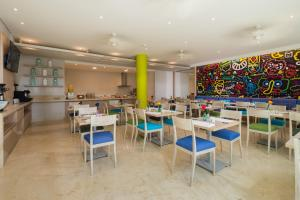 En restaurant eller et spisested på bh Barranquilla