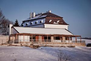 Lisensky Dvur v zimě