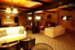Restaurant ou autre lieu de restauration dans l'établissement The Ark Lodge